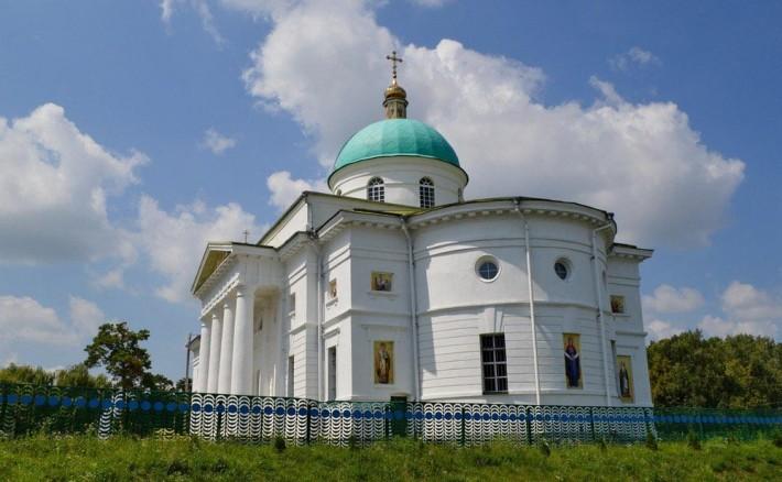 Покровская церковь 1843 г. в с. Ромашки