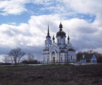 Церковь в с. Марьяновка