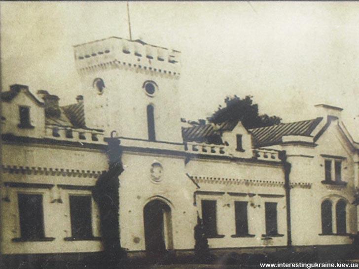 Дворец Кочубеев в Згуровке. До настоящего времени не сохранился