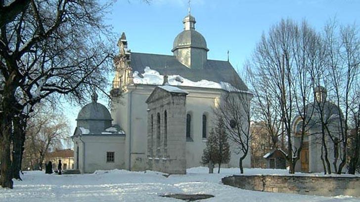 Церковь святого Николая в Золочеве