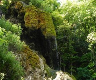 Водопад Девичьи Слёзы в с. Монастырек