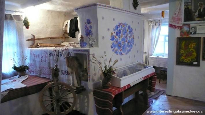 Дом Е. Белокур в с. Богдановка