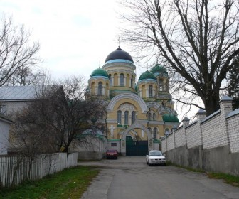 Монастырь в Городнице