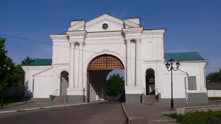 Киевские ворота в Глухове