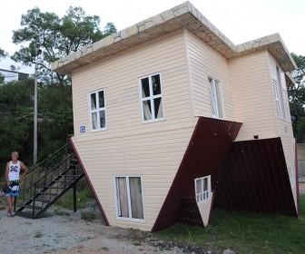 Перевёрнутый дом в Ялте