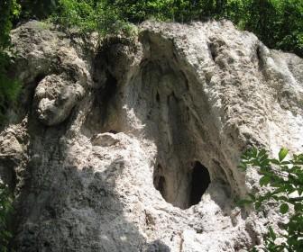 Пещера отшельника с. Летяче Залещицкого района