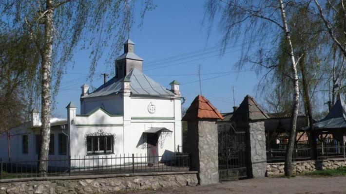 Старинные здания в Пирятине