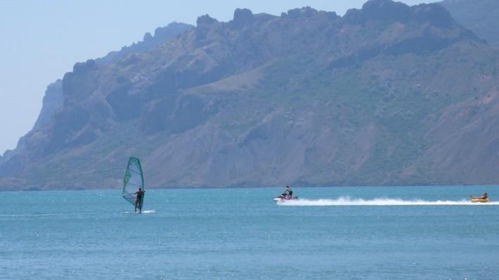 Серфинг в Коктебеле