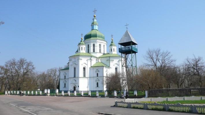 Свято-Преображенская церковь в Великих Сорочинцах