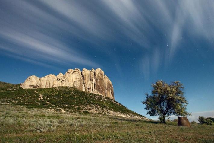 Меловые скалы Белокузьминовки