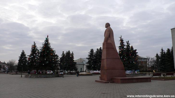 Центр Бердичева после Нового Года