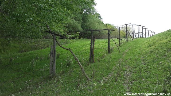 Граница с Румынией - интересное место в окрестностях Новосельского