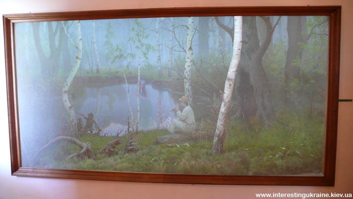 Диорама в музее Леси Украинки