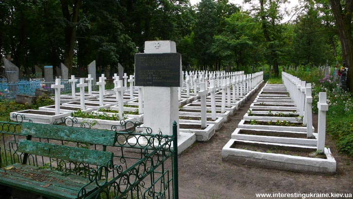 Клдабище польских солдатов в Ковеле