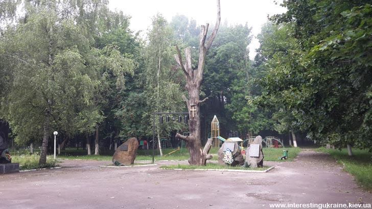 Памятник последствиям аварии на ЧАЭС