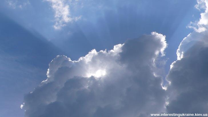 Небо над Згоранскими озерами