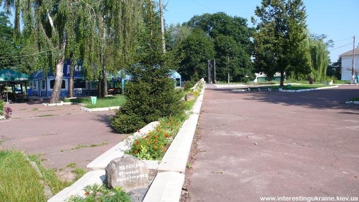 Памятник аварии на ЧАЭС в Овруче