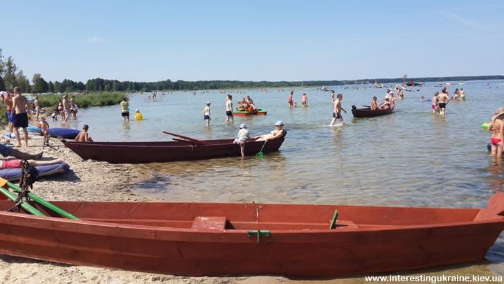 Озеро Свитязь - самое популярное среди Шацких озер