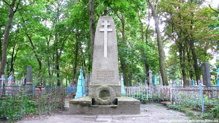 Памятник русским солдатам - достопримечательность Ковеля