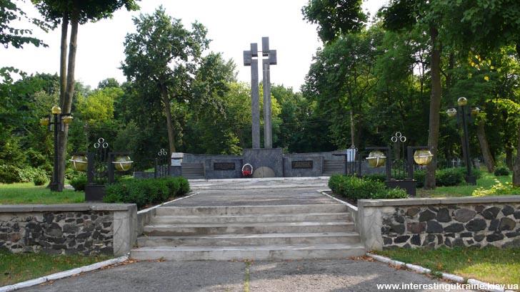 Памятник жертвам 2-й мировой войны в Ковеле