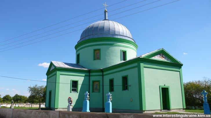 Поездка в Головно на Волыни - церковь XIX в.