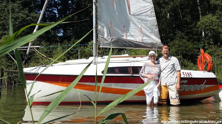 Прогулка на кораблике по озеру Свитязь
