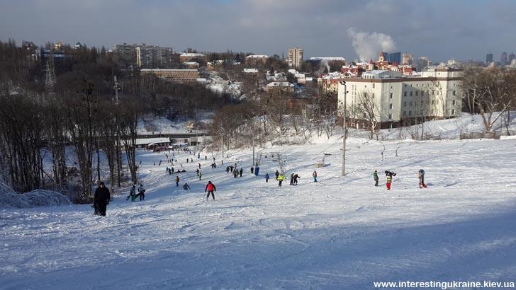Горные лыжи и сноуборд на Протасовом Яру, Киев