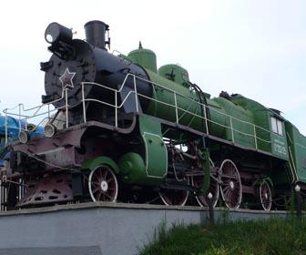 Паровоз СУ 253-25 Ковель