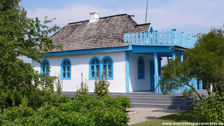 Домик в Колодяжном, в котором жила Леся Украинка