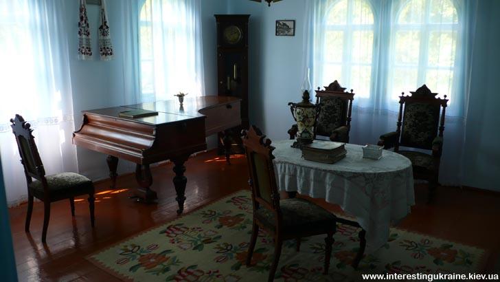 Интерьер дома Косачей