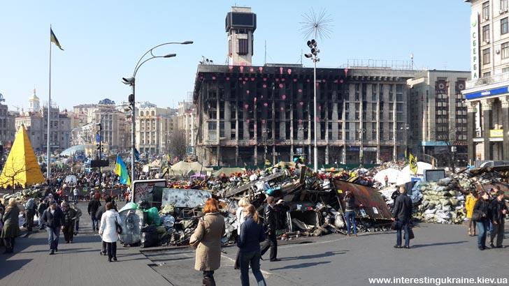Был сегодня на Майдане. Нет слов.