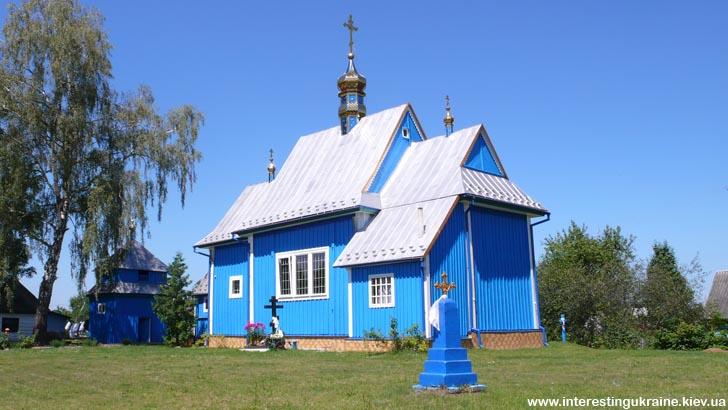 Дмитриевская церковь - достопримечательность с. Згораны