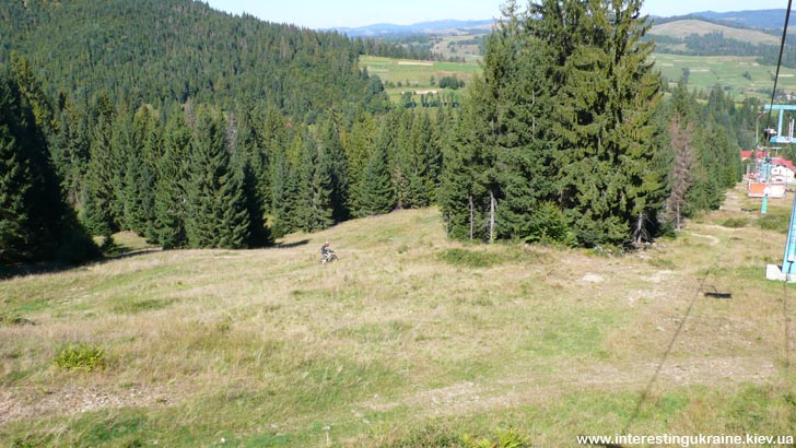 Downhill Borzhava