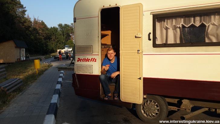 Пит-стоп на Житомирской трассе