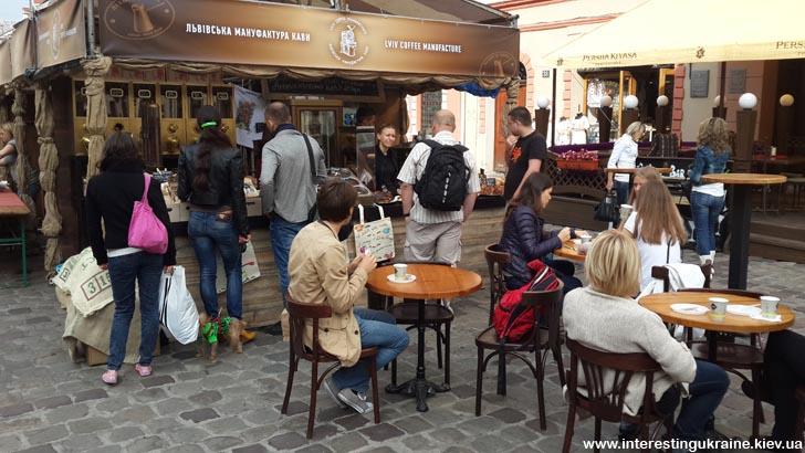 На фестивале кофе во Львове