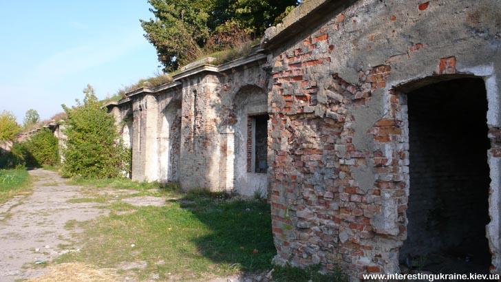 Казематы крепости в Бродах