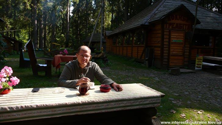Кофе-брейк у озера Синевир