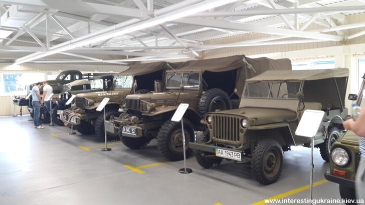 Раритетные военные автомобили