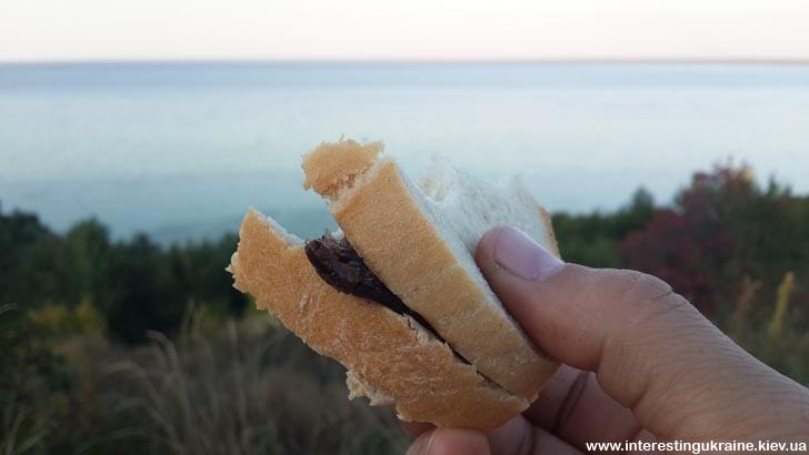 Пикник с видом на Киевское море