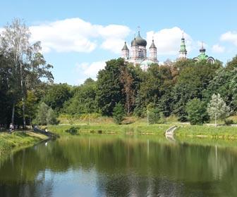 Парк Феофания - достопримечательность Киева