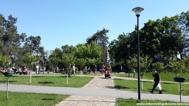 Парк Киото - достопримечательность Киева