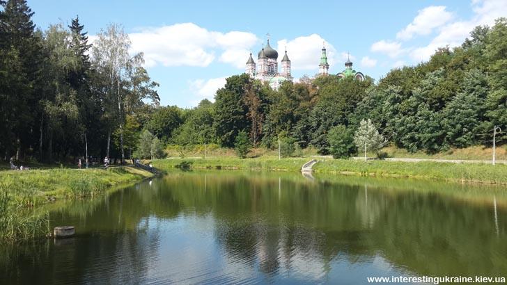 Прогулка по Киеву - парк Феофания