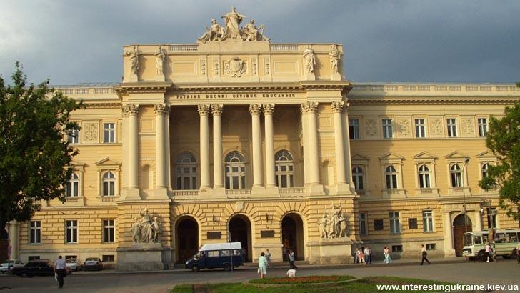 Львовский Университет - достопримечательность Львова