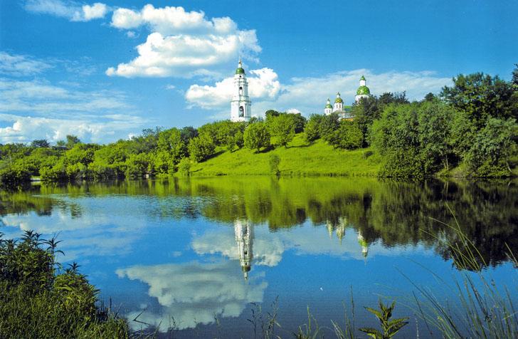 Мгарский монастырь - достопримечательность Полтавской области