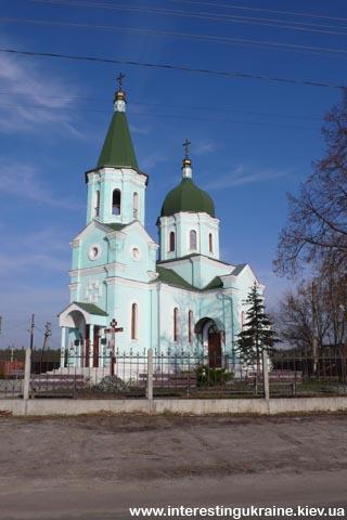 Церковь - достопримечательность Кийлова
