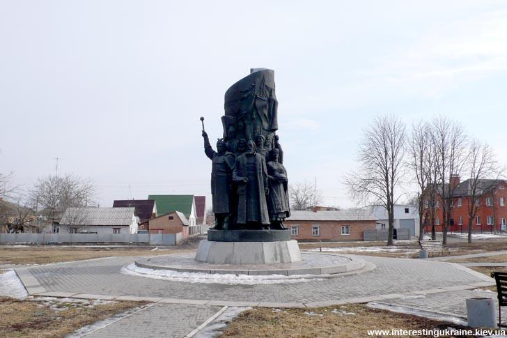 Памятник воссоединению Украины с Россией