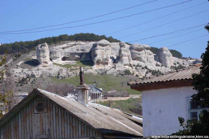 Скалы над Бахчисараем