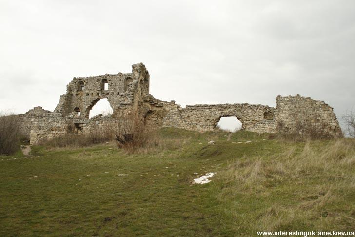 Руина крепости на Мангупе