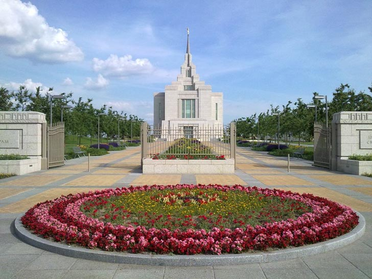 Храм мормонов  - достопримечательность с. Софиевская Борщаговка