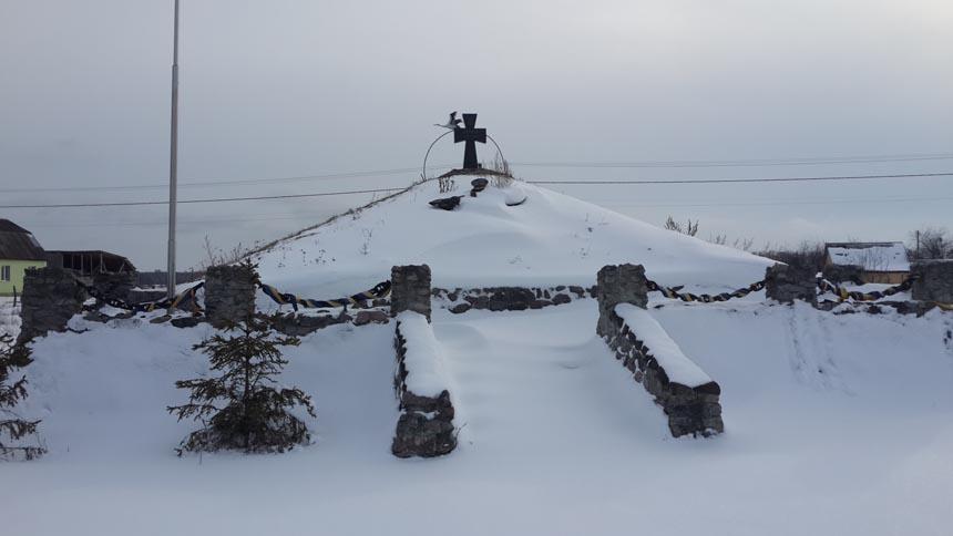Курган Юнкеров - достопримечательность Броварского района